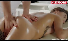 Busty Beauty Liya Silver Spreads Her Tight Ass At Massage