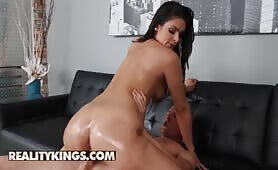 Latina pornstar Katana Kombat loves fast car