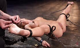 Broken Bitch Gets Bound and Tied