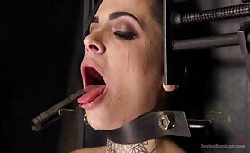 She gets Gagged and Bounded and Tormented